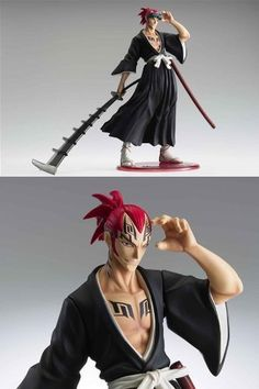 Bleach: Excellent Model Series Abarai Renji PVC Figure 1/8 Scale by Megahouse, http://www.amazon.com/dp/B001HHJWG8/ref=cm_sw_r_pi_dp_UbbFsb0PCY50P