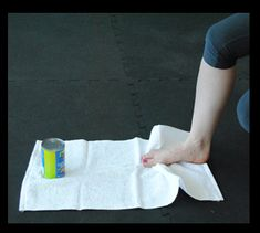 7 Physical Therapy Exercises You Can Do Using Household Objects Dancer Stretches, Ankle Exercises, Dancers Feet, Black Girls Run, Physical Therapy Exercises, Strength Workout, Strength Training