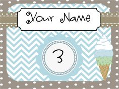 Free door sign personalized for you! Follow the new blog.