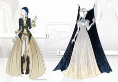 (CLOSED) Adoptable Outfit Auction 11 by Risoluce on DeviantArt
