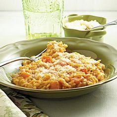 Pumpkin Risotto Recipe | MyRecipes