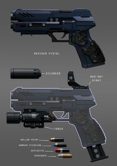 Pantropy Concept Art by Tyson Roberts on ArtStation. Anime Weapons, Sci Fi Weapons, Armor Concept, Weapon Concept Art, Fantasy Weapons, Weapons Guns, Guns And Ammo, Sci Fi Waffen, Rpg Cyberpunk
