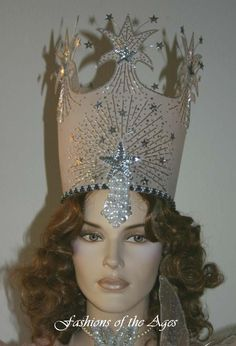 Wizards of Oz Glinda Crowns | Custom Made Glinda Wizard of Oz Costume - Fashions of the Ages