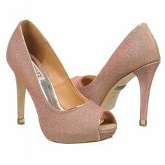 Badgley Mischka Humbie IV Shoes (Rose/Gold) - Women's Shoes - 7.0 M