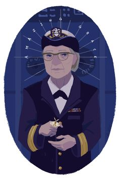 "[computer science] Grace Hopper invented the first compiler for a programming language, helped develop COBOL (one of the first high-level programming languages), and popularized the term ""debugging"" after removing a moth from a computer. She was also a US Navy Rear Admiral and an avid teacher, among her many accomplishments."