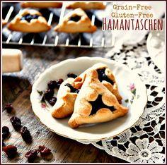 Grain-Free & Gluten-Free Hamantaschen, a classic treat for Purim