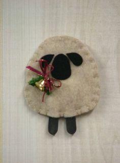 O Christmas Tree II: Woolly Lamb Ornament