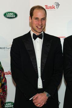 Prince William channels James Bond in tuxedo
