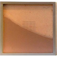 "Tierra-Cultivo-Cultura #1 (2006) by Artist: Teresa Pereda | Soil, Handmade Paper, Wood, Glass | Size: 9.8"" x 9.8"" x 1.6"" 26 x 26 x 4 cm. | http://www.objectmythology.com/"