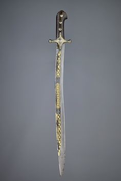 Ottoman sword 17th century karabela yataghan.  Konrad Sherlock collection