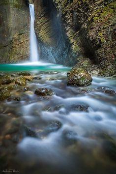 Kozjak Waterfall by Andreas Resch on 500px