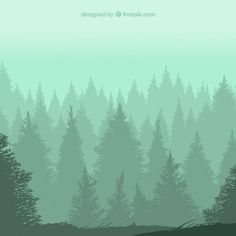 Image result for forest pattern background watercolor