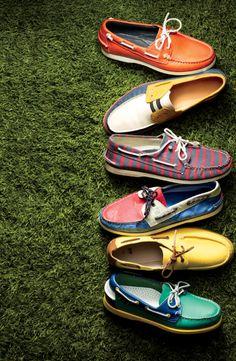 Boat shoe season.