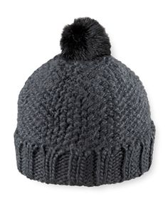 Pistil Juliette Slouch Style Hat - Black - Womens Fall 2015, Knitted Hats, Winter Hats, Knitting, Collection, Black, Women, Style, Fashion