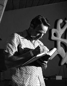 Marlon Brando photographed by Sid Avery, 1955
