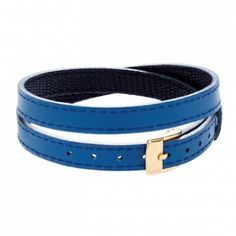 Leather bracelet blue/black £28 #lilou #bracelet #christmas #present #lessthan35 #jewellery