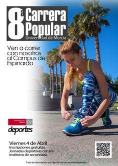 Cartel 8ª Carrera Popular http://www.um.es/web/deportes/competiciones/carrera-popular