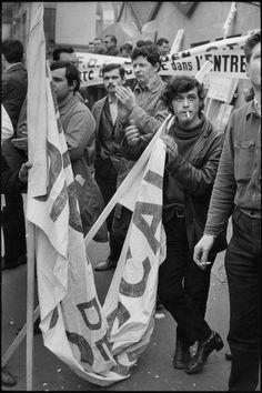 Henri Cartier-Bresson // France, Paris. May 1968 Events.