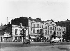 Heikinkatu 13 (= Mannerheimintie 9).   Brander Signe HKM 1937   Helsingin kaupunginmuseo   negatiivi ja vedos, lasi paperi, mv