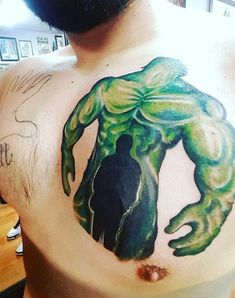 100 Incredible Hulk Tattoos For Men - Gallant Green Design Ideas Captain America Tattoo, Hulk Tattoo, Red Hulk, Superhero Design, The Next Big Thing, Bruce Banner, Incredible Hulk, Tattoos For Guys, Dc Comics