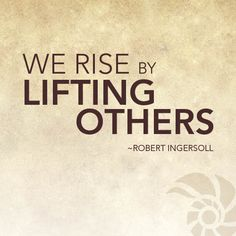 """We rise by lifting others."" (Robert Ingersoll)  Kickstart Your Week with us -- learn about becoming a better philanthropist and discover how humans are impacting nature (in a rather beautiful way)."