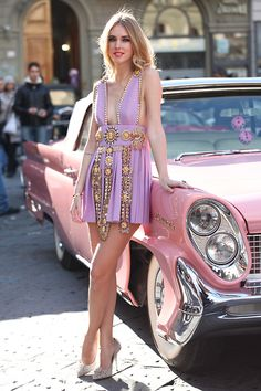 Fausto Puglisi spike dress  BY CHIARA F., 24 YEAR OLD BLOGGER FROM THEBLONDESALAD.COM FROM MILANO