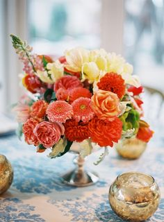 bright & colorful floral designs
