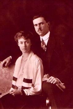 Grand Duchess Charlotte et Grand Duc Félix de Luxembourg
