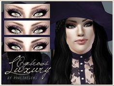 Pralinesims' Luxury Eyebrows