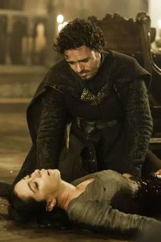 Love is the death of honor.  Robb Stark and Talisa. 😢😢