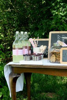 Liebesbotschaft: summer-vintage-picnic