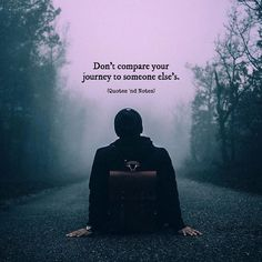 Don't compare your journey to someone else's. via (http://ift.tt/2unm9eQ)