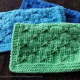 Dishcloth #10: Butterfly Bowknot