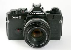 Classic cameras - Olympus OM-4 Ti by poltag, via Flickr--Actually history: My first camera!
