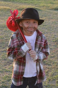 Nicholas in his hobo costume! DIY Kid Costume  sc 1 st  Pinterest & Homemade Baby Hobo Costume Made By Brooke: facebook.com ...