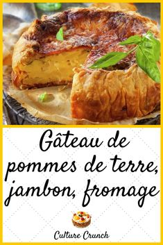 No Salt Recipes, My Recipes, Cooking Recipes, Pizza Tarts, Artisan Pizza, Quiche, Apple Cake, French Food, Entrees