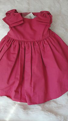 Janie and Jack Pink Ruffle Swimsuit Size 12-18 mo 2T Brand New Glow Pink