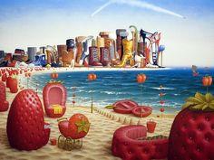 Pinturas de Jacek Yerka (10 imágenes)