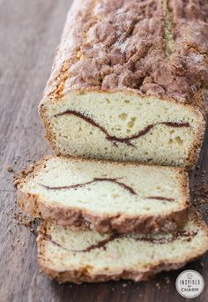 Cinnamon Sour Cream Bread | inspiredbycharm.com