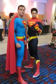 Superman Family. View more EPIC cosplay at http://pinterest.com/SuburbanFandom/cosplay/