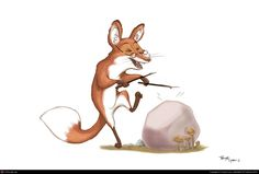 Groovy Mr. Fox by Tanya Lyon | 2D | CGSociety