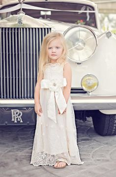 2015+Ivory+Juliette+Maxi+Gown 2+to+10+Years Exclusively+at+Cassie's+Closet Now+in+Stock