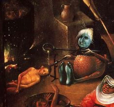 Hieronymus Bosch Dante S Inferno The Heart Of The Matter