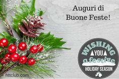 Auguri di Buone Feste - Merry Christmas