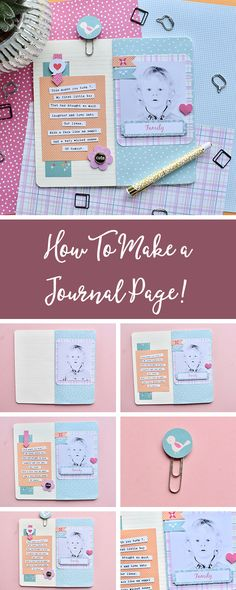 Take note of every adventure you experience, with your own personalised journal! #CreativeRox #Journal #Scrapbook #JournalPage #Papercraft #Personalised #DIYmakes #DIYcraft #DIYjournal #Makersgonnamake