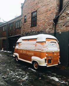 Snowy little Taco truck lovely to have you back & thanks for feeding our guests so well last night. Travel home safe
