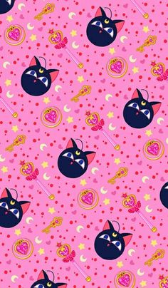 Chibi moon wallpaper