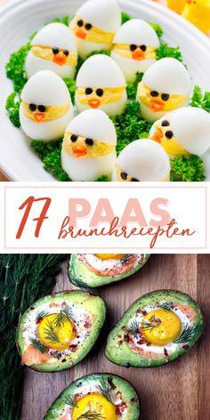 Recepten voor de paasbrunch op Pasen