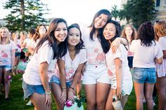 Delta Zeta at University of San Francisco #DeltaZeta #DZ #BidDay #sorority #USF