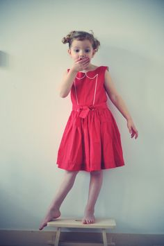 ROMA sewing pattern - c'est dimanche - by ogresogres Well Dressed Wolf, Dressmaking, Kids Girls, Kids Outfits, Kids Fashion, Flower Girl Dresses, Summer Dresses, Sewing, Wedding Dresses